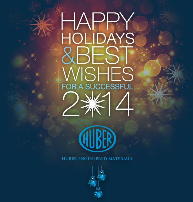 Happy Holidays 2013 from Huber Engineered Materials