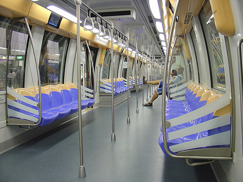 Subway Train Interior Blog