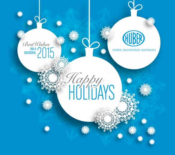 Huber Engineered Materials Holiday Greeting